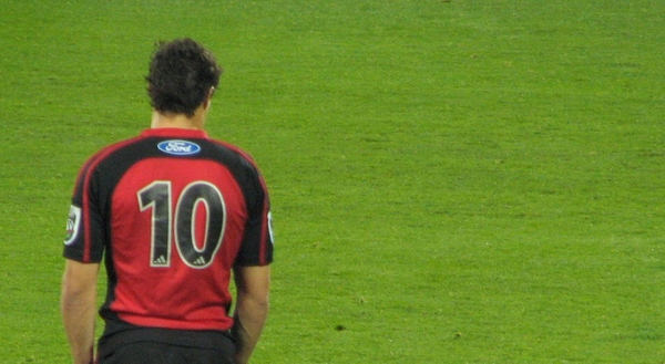Dan Carter on 100 games